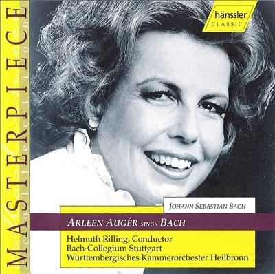 Arleen Augér Sings Bach