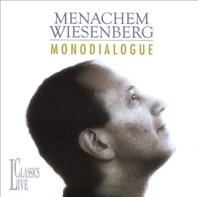 Menachem Wiesenberg: Monodialogue