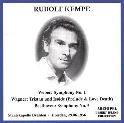 Rudolf Kempe conducts Weber, Wagner, Beethoven