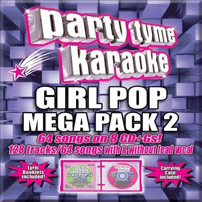 Party Tyme Karaoke: Girl Pop Mega Pack, Vol. 2