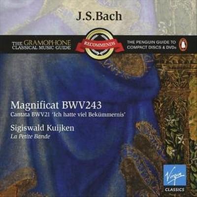 J.S. Bach: Magnificat BWV243; Cantata BWV21 'Ich hatte viel Bekümmernis'