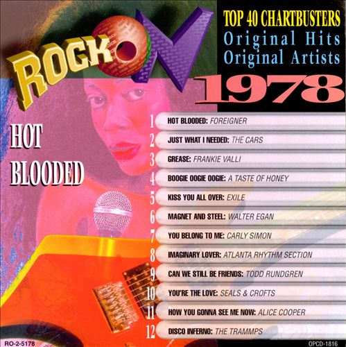 Rock on 1978: Hot Blooded