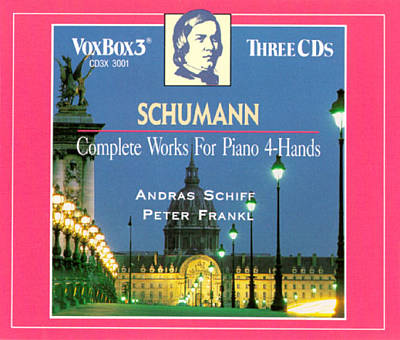 Schumann: Complete Works for Piano 4-Hands