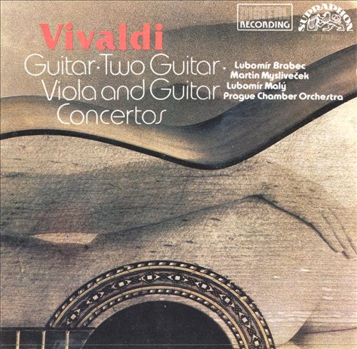 Vivaldi: Guitar, Two Guitar, Viola and Guitar Concertos