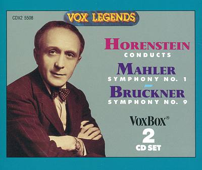 Horenstein conducts Mahler Symphony No. 1 & Bruckner Symphony No. 9