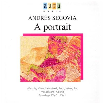 Andrés Segovia: A Portrait, Vol. 3
