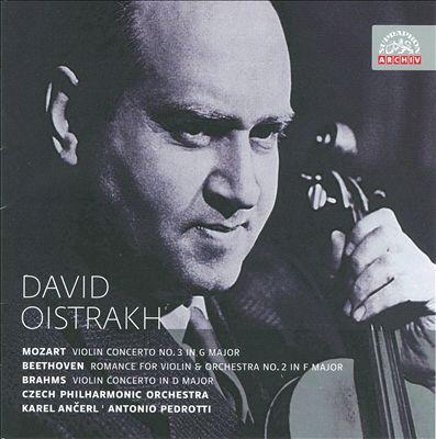 David Oistrakh Plays Mozart, Beethoven, Brahms & Others