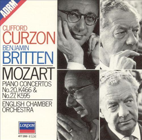 Mozart: Piano Concertos Nos. 20 & 27, K466 & K595