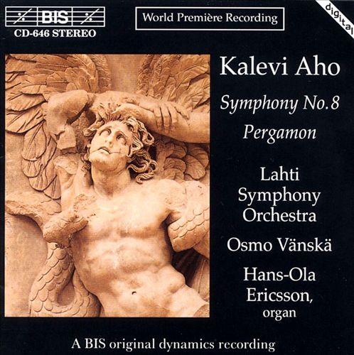 Aho: Symphony 8; Pergamon