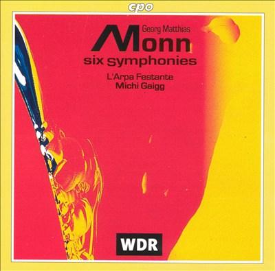 Monn: Six Symphonies