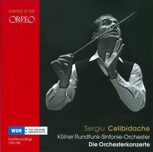 Sergiu Celibedache Conducts Kölner Rundfunk-Sinfonie-Orchester