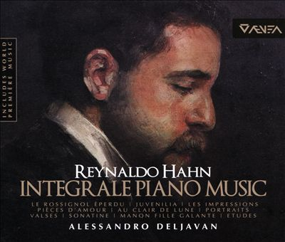 Reynaldo Hahn: Integrale Piano Music