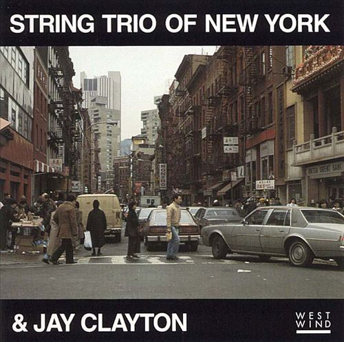 Jay Clayton with the String Trio of New York
