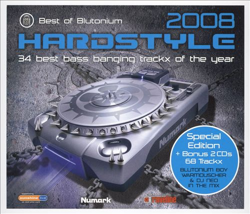 Best of Blutonium: Hardstyle 2008