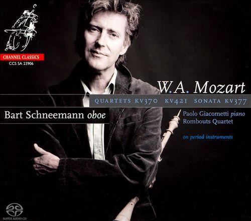 Mozart: Quartets, KV 370 & 421; Sonata, KV 377