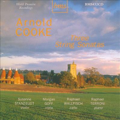 Arnold Cooke: Three String Sonatas