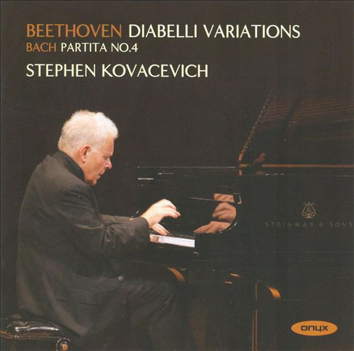 Beethoven: Diabelli Variations; Bach: Partita No. 4