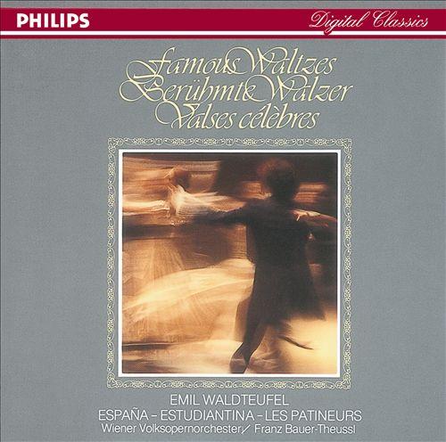 Famous Waltzes: Emil Waldteufel