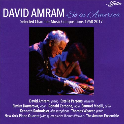 David Amram: So in America