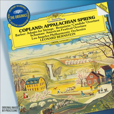 Copland: Appalachian Spring; Barber: Adagio for Strings; Bernstein: Candide Overture; Schuman: American Festival Over