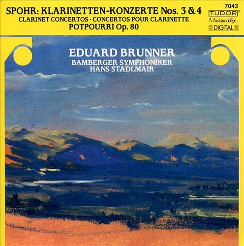 Sphor: Clarinet Concertos 3 & 4/ Potpourri