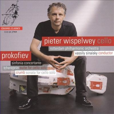 Prokofiev: Sinfonia Concertante; Tcherepnin: Suite for cello solo; Crumb: Sonata for cello solo
