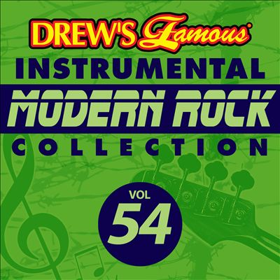 Drew's Famous Instrumental Modern Rock Collection, Vol. 54