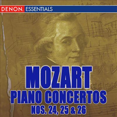 Mozart: Piano Concertos Nos. 24-26