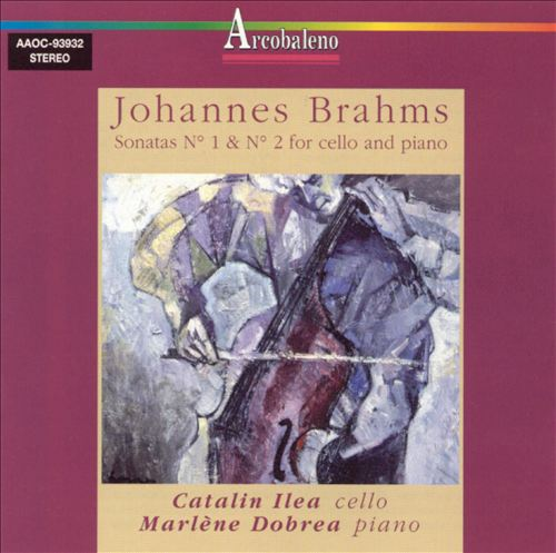 Brahms: Sonatas Nos. 1 & 2 for Cello & Piano