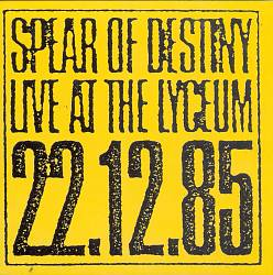 Live at the Lyceum 12-22-85