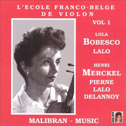 L'Ecole Franco-Belge de Violon Volume 1