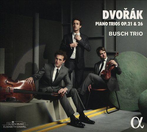 Dvorák: Piano Trios Op.21 & 26