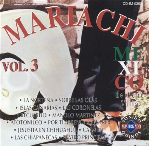 Mariachi Mexico de Pepe Villa, Vol. 3