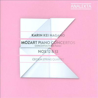 Mozart: Piano Concertos Nos. 12 & 13