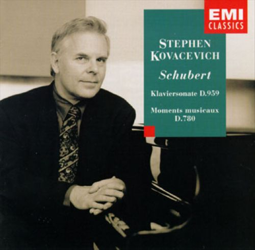 Schubert: Klaviersonate, D959; Moments musicaux, D780
