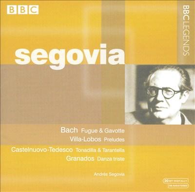Bach: Fugue & Gavotte; Villa-Lobos: Preludes