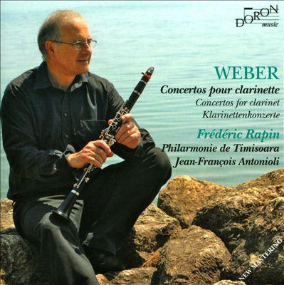 Weber: Concertos pour Clarinette