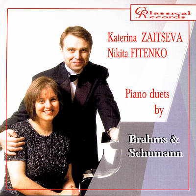 Piano Duets by Brahms & Schumann