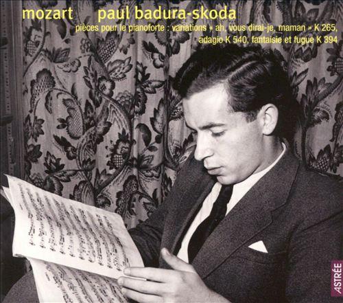 Mozart: Pièces pour le pianoforte
