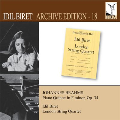 Johannes Brahms: Piano Quintet in F minor, Op. 34