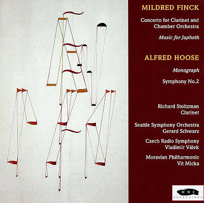 Mildred Finck: Concerto for Clarinet and Chamber Orchestra; Music for Japeth; Alfred Hoose: Monograph; Symphony No. 2