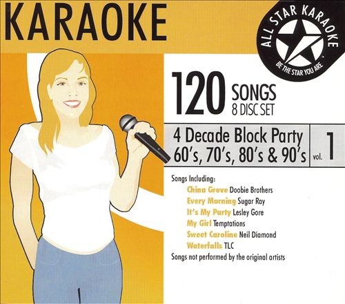 Karaoke: Four Decade Block Party: 60S 70S 80S and 90s, Vol. 1