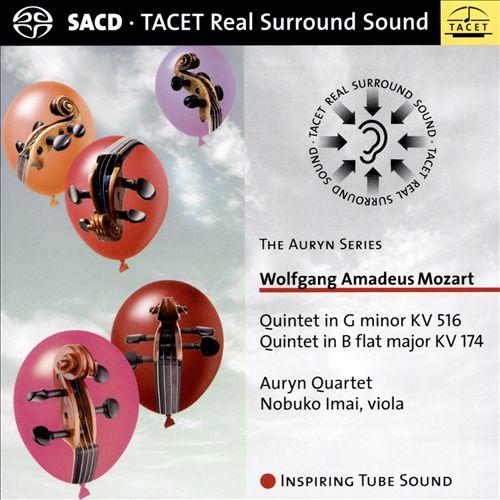 Wolfgang Amadeus Mozart: Quintet in G minor KV 516; Quintet in B flat major KV 174