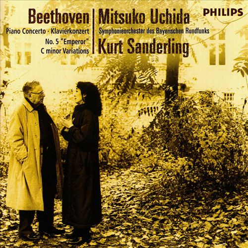 Beethoven: Piano Concerto No. 5; Variations in C minor