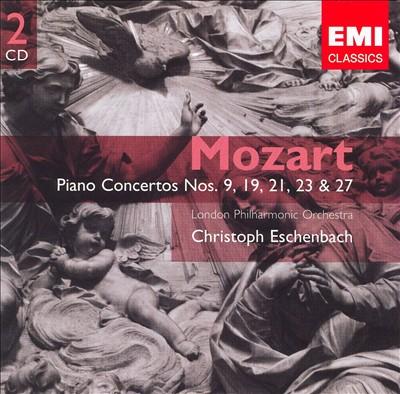 Mozart: Piano Concertos Nos. 9, 19, 21, 23 & 27