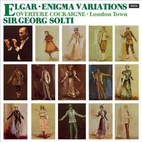 Elgar: Enigma Variations; Overture Cockaigne
