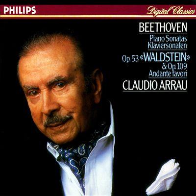 "Beethoven: Piano Sonatas Op. 53 ""Waldstein"" & Op. 109; Andante Favori"
