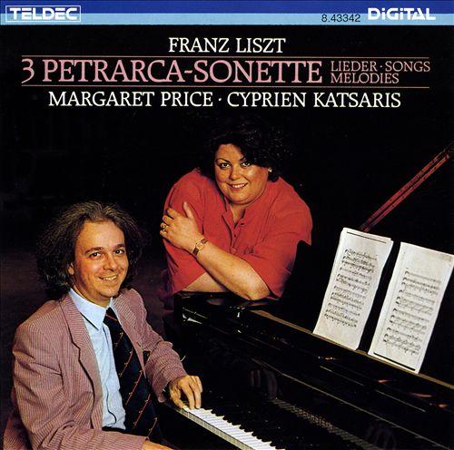 Liszt: 3 Petrarch Sonnets; Lieder