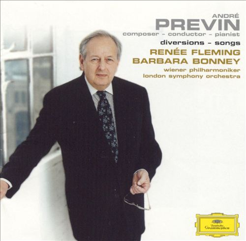 Previn: Diversions - Songs