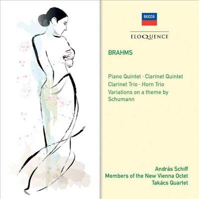 Brahms: Piano Quintet; Clarinet Quintet; Clarinet Trio; Horn Trio; Etc.